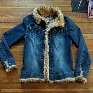 Billabong Jean jacket with fur